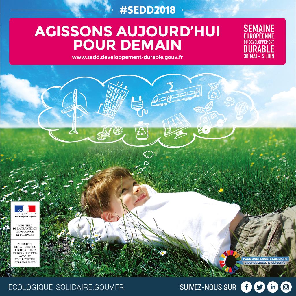 Semaine européenne du développement durable 30 mai au 5 juin écologie solidaire recyclerie au bonheur des bennes 44 Saint-Nazaire