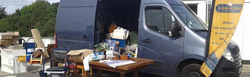 decheterie camion Au bonheur des bennes recyclerie