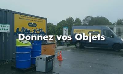 Donnez Recyclerie Au Bonheur des Bennes Saint Nazaire 44