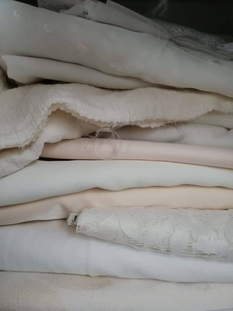 Vente spéciale mercerie tissus couture recyclerie au bonheur des bennes Saint-Nazaire 44