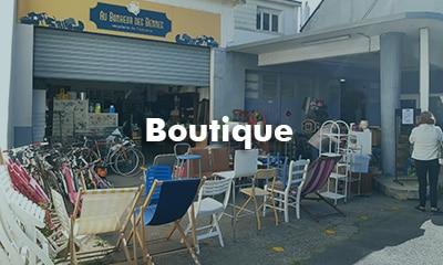 Boutique Recyclerie Au Bonheur des Bennes Saint Nazaire 44