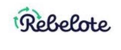 logo rebelote réemploi boutique en ligne