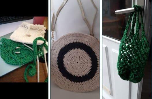 Atelier crochet - réemploi -
