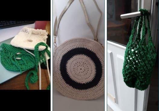 crochet t shirt remploi créatif recyclerie au bonheur des bennes saint nazaire 44
