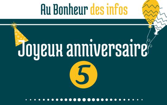 Au Bonheur des Bennes souffle sa 5-ème bougie