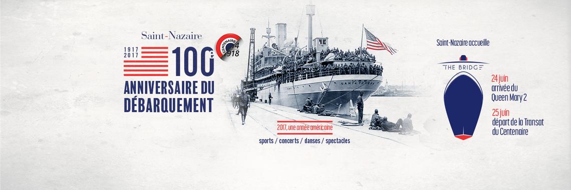 The bridge 100 anniversaire du débarquement ouverture exceptionnelle 25 juin 2017 recyclerie au bonheur des bennes 44 Saint-Nazaire