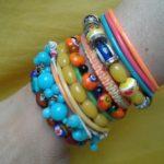Bracelets réemploi recyclerie au bonheur des bennes 44 Saint-Nazaire